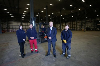 Ferguson's Launch Move Into Greenock Warehouse To Support Growth