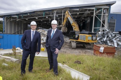 Former IBM Greenock Site Cleared Ahead Of Potential £100m Rejuvenation