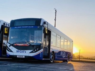 McGill's Buses Announces £17.5m Deal For All-electric Buses